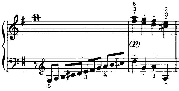ベートーヴェン「ピアノソナタ第20番ト長調Op.49-2第1楽章」ピアノ楽譜7