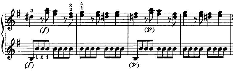 ベートーヴェン「ピアノソナタ第20番ト長調Op.49-2第1楽章」ピアノ楽譜9