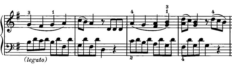 ベートーヴェン「ピアノソナタ第20番ト長調Op.49-2第1楽章」ピアノ楽譜11