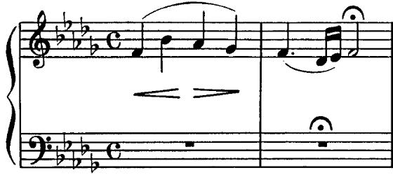 グリンカ歌曲集「サンクトペテルブルクとの別れ」第10曲「ひばり」ホ短調/ピアノ編曲:バラキレフ 変ロ短調 ピアノ楽譜1