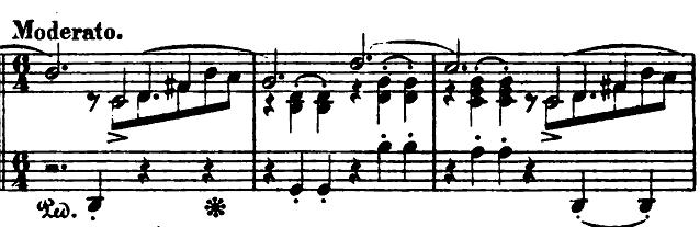 ショパン「バラード第1番ト短調op.23」ピアノ楽譜2