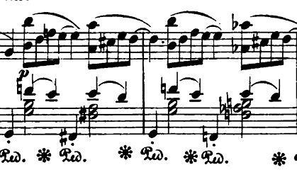 ショパン「バラード第1番ト短調op.23」ピアノ楽譜3