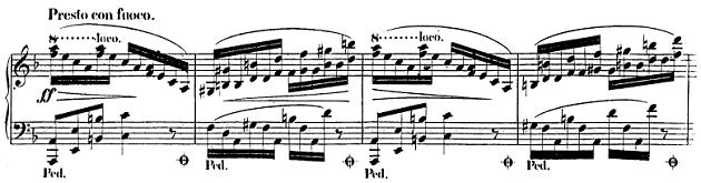 ショパン「バラード第2番ヘ長調op.38」ピアノ楽譜1