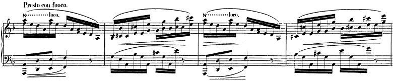 ショパン「バラード第2番ヘ長調op.38」ピアノ楽譜2