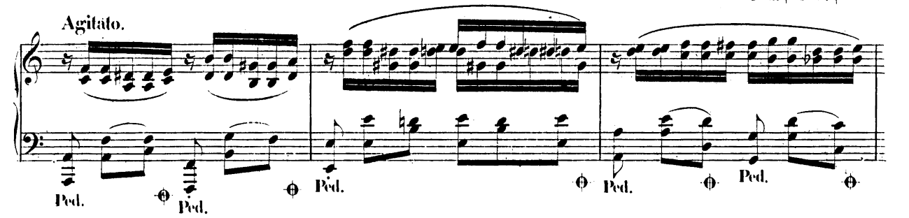 ショパン「バラード第2番ヘ長調op.38」ピアノ楽譜3
