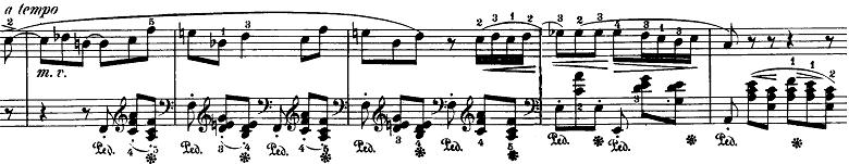 ショパン「バラード第4番へ短調op.52」ピアノ楽譜1