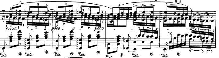 ショパン「バラード第4番へ短調op.52」ピアノ楽譜2