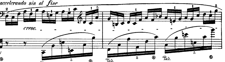 ショパン「バラード第4番へ短調op.52」ピアノ楽譜5