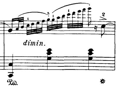 ブルグミュラー「18の練習曲第2番「真珠」ハ長調Op.109-2」ピアノ楽譜2