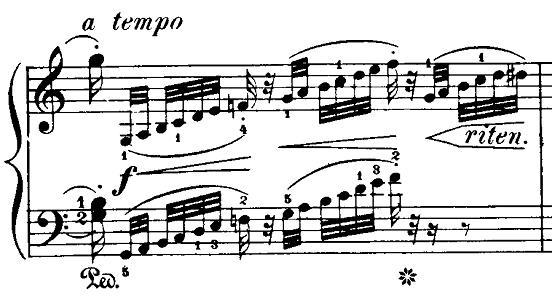 ブルグミュラー「18の練習曲第2番「真珠」ハ長調Op.109-2」ピアノ楽譜5