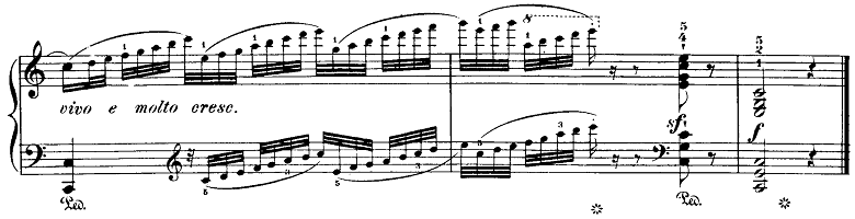 ブルグミュラー「18の練習曲第2番「真珠」ハ長調Op.109-2」ピアノ楽譜6