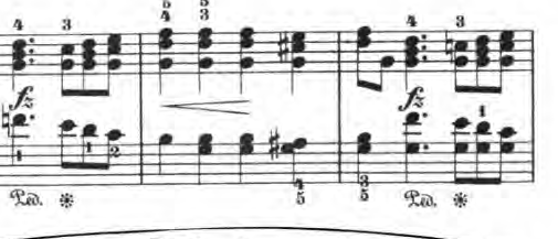 ベルティーニ「24の小品集第16番「ロマンス」ハ長調Op.101-16」ピアノ楽譜2