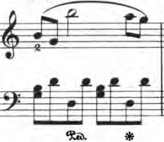 ベルティーニ「24の小品集第16番「ロマンス」ハ長調Op.101-16」ピアノ楽譜3