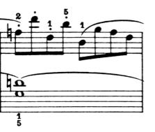 ブルグミュラー「25の練習曲第6番「進歩」ハ長調Op.100-6」ピアノ楽譜2