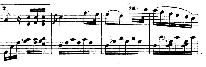 ベートーヴェン「バガテル第25番「エリーゼのために」イ短調WoO.59」ピアノ楽譜1