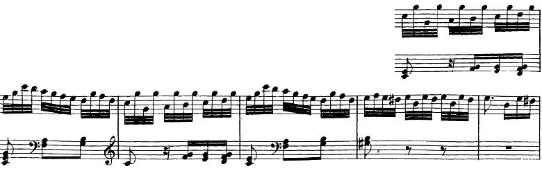 ベートーヴェン「バガテル第25番「エリーゼのために」イ短調WoO.59」ピアノ楽譜2
