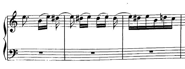 ベートーヴェン「バガテル第25番「エリーゼのために」イ短調WoO.59」ピアノ楽譜4
