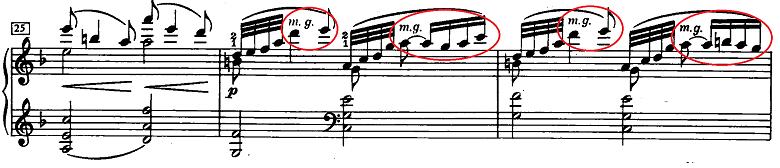 ドビュッシー「ベルガマスク組曲第1曲『前奏曲』ヘ長調L.75-1」ピアノ楽譜4