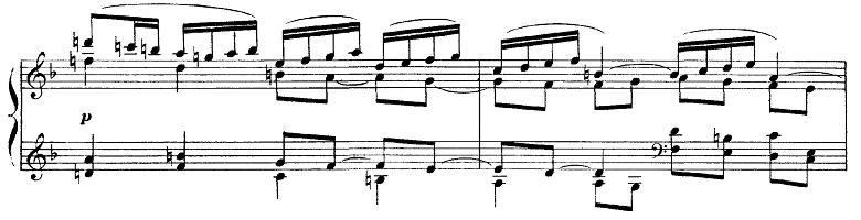 ドビュッシー「ベルガマスク組曲第1曲『前奏曲』ヘ長調L.75-1」ピアノ楽譜5