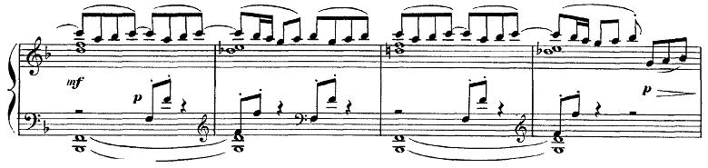 ドビュッシー「ベルガマスク組曲第1曲『前奏曲』ヘ長調L.75-1」ピアノ楽譜7