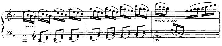 ドビュッシー「ベルガマスク組曲第1曲『前奏曲』ヘ長調L.75-1」ピアノ楽譜9