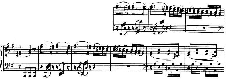 ベートーヴェン「ピアノソナタ第10番ト長調Op.14-2第1楽章」ピアノ楽譜2