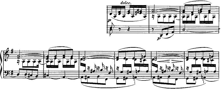 ベートーヴェン「ピアノソナタ第10番ト長調Op.14-2第1楽章」ピアノ楽譜3
