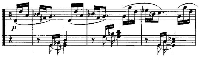 ベートーヴェン「ピアノソナタ第10番ト長調Op.14-2第1楽章」ピアノ楽譜4