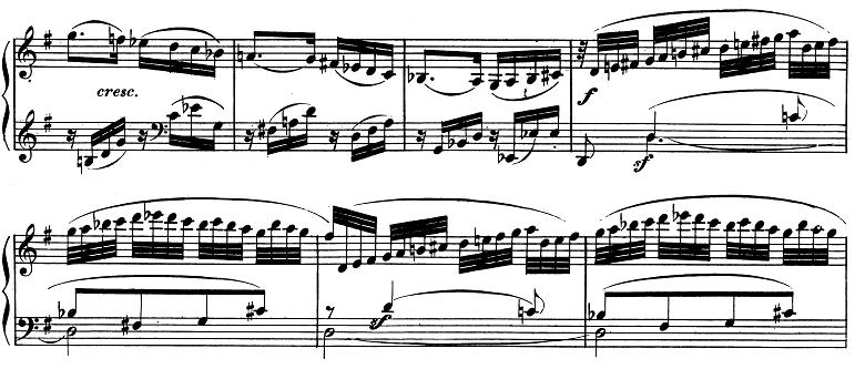 ベートーヴェン「ピアノソナタ第10番ト長調Op.14-2第1楽章」ピアノ楽譜6