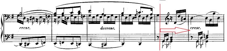 ベートーヴェン「ピアノソナタ第10番ト長調Op.14-2第1楽章」ピアノ楽譜8