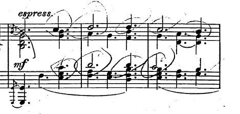 バッハ「カンタータ「心と口と行いと生活で」第10曲「主よ、人の望みの喜びよ」ト長調BWV147-10/ピアノ編曲:ハロルド・バウアー(マイラ・ヘス)」楽譜5