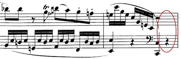 モーツァルト「ピアノソナタ第13番変ロ長調K.333第1楽章」ピアノ楽譜3