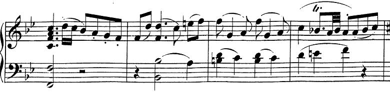 モーツァルト「ピアノソナタ第13番変ロ長調K.333第1楽章」ピアノ楽譜4