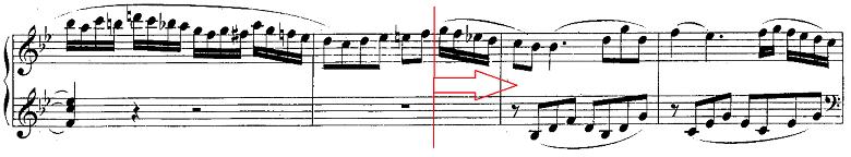 モーツァルト「ピアノソナタ第13番変ロ長調K.333第1楽章」ピアノ楽譜9