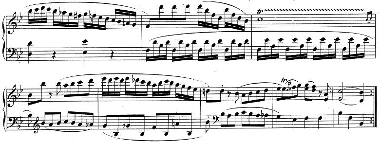 モーツァルト「ピアノソナタ第13番変ロ長調K.333第1楽章」ピアノ楽譜11