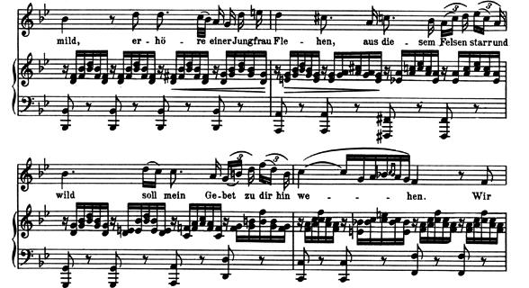 シューベルト「アヴェマリア」ピアノ楽譜4