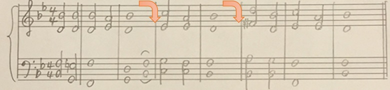 シューベルト「アヴェマリア」ピアノ楽譜6