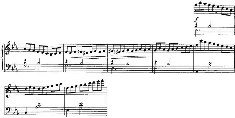 シューベルト「即興曲第2番Op.90-2」ピアノ楽譜4