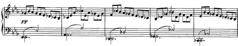 シューベルト「即興曲第2番Op.90-2」ピアノ楽譜6