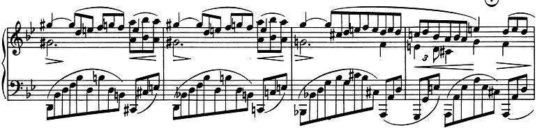 ブラームス「2つのラプソディ第2番ト短調Op.79-2」ピアノ楽譜3