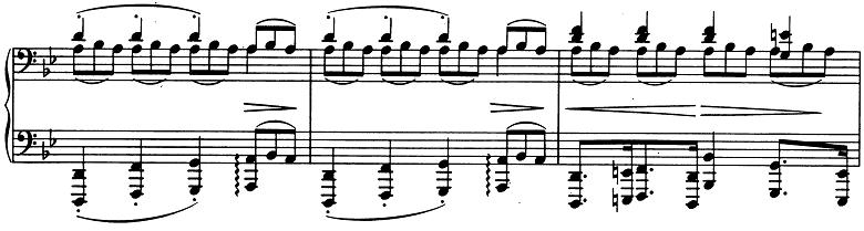 ブラームス「2つのラプソディ第2番ト短調Op.79-2」ピアノ楽譜4