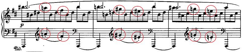 ブラームス「2つのラプソディ第2番ト短調Op.79-2」ピアノ楽譜7