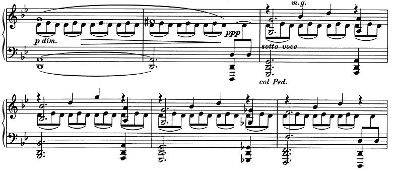 ブラームス「2つのラプソディ第2番ト短調Op.79-2」ピアノ楽譜8