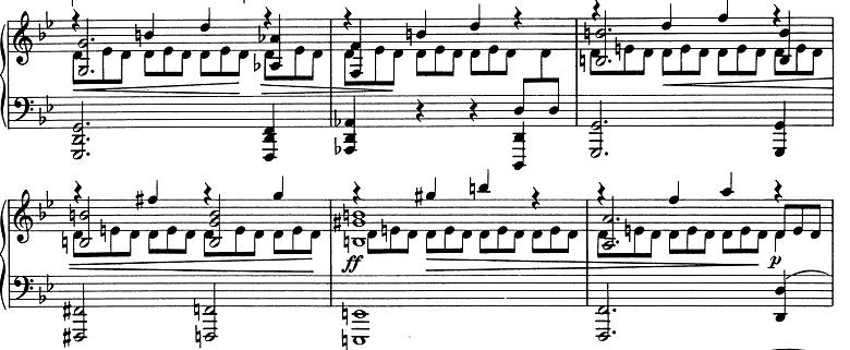 ブラームス「2つのラプソディ第2番ト短調Op.79-2」ピアノ楽譜9
