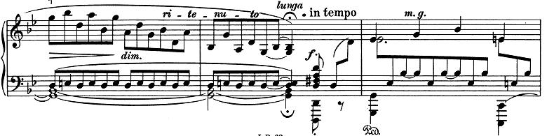 ブラームス「2つのラプソディ第2番ト短調Op.79-2」ピアノ楽譜10