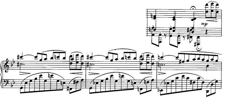 ブラームス「2つのラプソディ第2番ト短調Op.79-2」ピアノ楽譜11