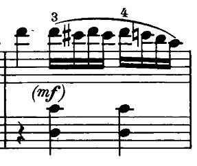 ベートーヴェン「ピアノソナタ第20番ト長調Op.49-2第2楽章」ピアノ楽譜3