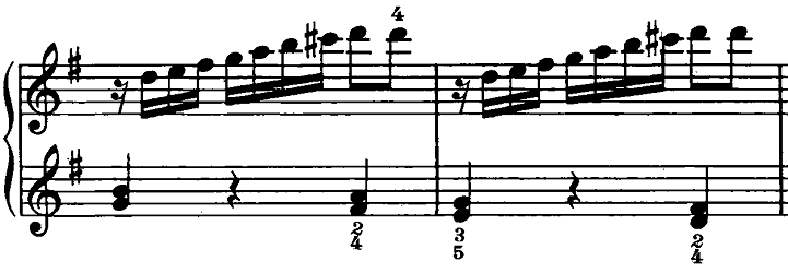 ベートーヴェン「ピアノソナタ第20番ト長調Op.49-2第2楽章」ピアノ楽譜5