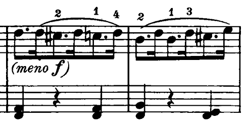 ベートーヴェン「ピアノソナタ第20番ト長調Op.49-2第2楽章」ピアノ楽譜7