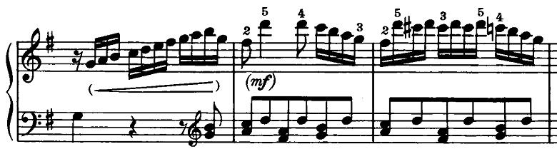 ベートーヴェン「ピアノソナタ第20番ト長調Op.49-2第2楽章」ピアノ楽譜11
